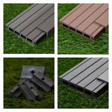 28 Sqm of Wooden Composite Decking Inc Boards, Edging & Fixing Packs