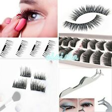 False Eyelashes 3D Magnetic Mink Fur Eye Lash Adhesives Makeup Eyelash Tools