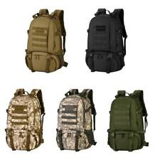 40L MOLLE Outdoor Rucksack Travel Daypack Camping Hiking Trekking Backpack Bag