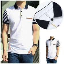 Cotton Men's T-shirt Jerseys 1Pcs Short Sleeve shirt Men's Polo Shirt New