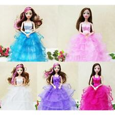 10in Handmade Clothes Evening Dress for Barbie Doll Party Dress Outfits Gift