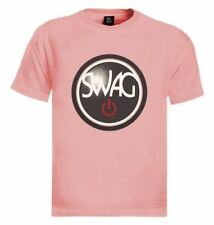 SWAG ON T-Shirt  YOLO Party Rave Hype Bro Dope Hip Hop Tee Rap Dripping Funny