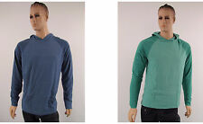 Gap Mens Shirt New Long Sleeve Hooded Two Tone Color Large Front Pocket