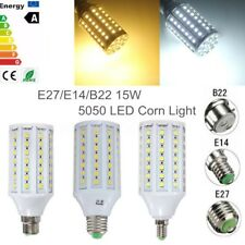E27/E14/B22 15W 5050 SMD 86 LED Corn Light Bulb Energy Saving Lamp AC 110V/220V