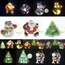 Christmas Battery LED Sucker Colorful Window Display Fairy Strip Lights Lamps