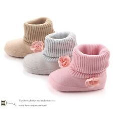 Baby Girl Soft Sole Booties Snow Boots Infant Toddler Newborn Crib Shoes Booties