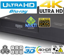 NEW LG UP970 Region Free Blu Ray Player  4k UHD HDR10 All Zone Multi Code 2017