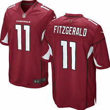 Authentic Nike NFL Game Edition Arizona Cardinals Larry Fitzgerald #11 Jersey