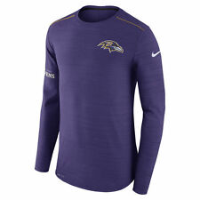 Nike Dri-FIT 2017 NFL Baltimore Ravens Sideline Player Long Sleeve T-Shirt NWT