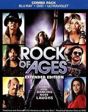 Rock of Ages (Blu-ray Disc, 2012, 2-Disc Set, Extended Edition) with slip cover