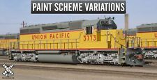 Rivet Counter HO Scale EMD SD40-2, Union Pacific/Post 1980