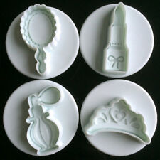 Fondant Cake Cutter Plunger Cookies Molds Mould Sugarcraft Flower Decorating New