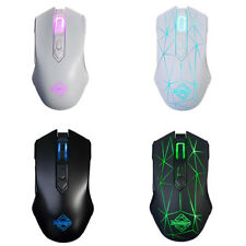 AJ52 LED Optical USB Wired Gaming Mouse Mice for Pro Gamer Computer Laptop
