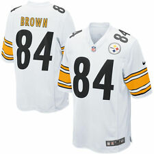 Authentic Nike NFL 2017 Game Edition Pittsburgh Steelers Antonio Brown 84 Jersey