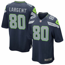 Authentic Nike NFL 2017 Game Edition Seattle Seahawks Steve Largent #80 Jersey