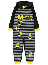 George Boys Kids Official Despicable Me 3 Minions Hooded All In One