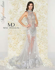 Mac Duggal 50426D Long Evening Dress ~LOWEST PRICE GUARANTEE~ NEW Authentic Gown