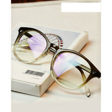 Vintage Retro Nerd Men Women Glasses Round Anti Radiation Clear Lens Eyewear