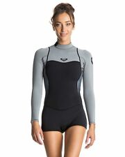NEW ROXY™  Womens Syncro 2/2mm Short Sleeve Springsuit Wetsuit 2016 Womens Surf