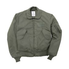 Alpha Industries CWU 36 P Nomex Mil Spec Flight Jacket Sage Green USA Made