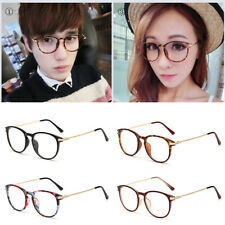 Unisex Women Mens Clear Lens Glasses Retro Nerd Geek Eyewear Eyeglasses Party