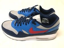 Nike Air Max 1 Lunarlon ID Men's Leather Trainers Size.UK-8  -- 823373 995
