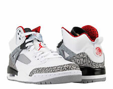 Nike Air Jordan Spizike White/Red-Cement Grey Men's Basketball Shoes 315371-122