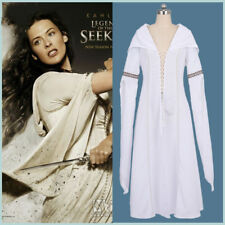 Legend of the Seeker Coaplay Kahlan Amnell White Fancy Dress Costume Party Women