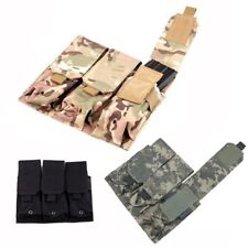 Magazine Pouch Tactical Molle Modular Triple 5.56 .223 Mag Pouch Tool Holder Bag