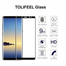 Samsung Galaxy Note 8 Black Tempered Glass Full Curved Screen Protector Gorilla