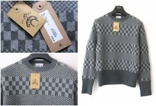 NWT THOM BROWNE BROOKS BROTHERS BLACK FLEECE WOOL/CASHMERE SWEATER Sz-L $725