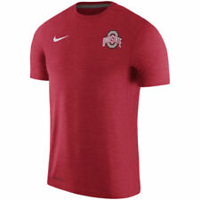 Limited Nike Dri-FIT 2017 NCAA Ohio State Buckeyes Sideline Coaches Touch Shirt