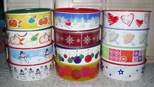 New~2Pc TUPPERWARE One Touch Cookie Snack Canister~Winter, Fall, Summer, Choice