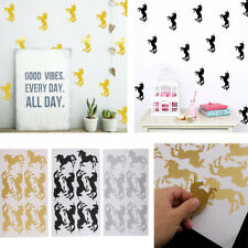 Lovely Unicorn Removable Wall Stickers Art Decal Kids Home Bedroom DIY Decor