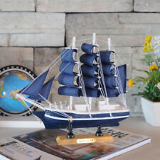Wooden Ship Assembly Model Handcrafted Sailing Boat Model Handmade Ornaments