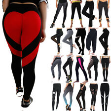 Women Yoga Leggings Trousers Fitness Gym Ladies High Waist Sports Running Pants