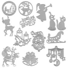 Metal Cutting Dies Stencil DIY Embossing Christmas Card Craft Xmas Decor