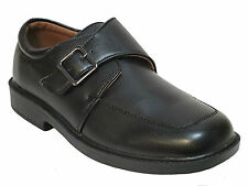 Ball Band boys black slip on buckle casual dress shoes. Youth size