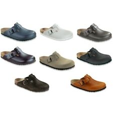 SALE Birkenstock Boston Leather Clogs regular and narrow width different colors