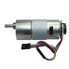1x 37GB545 DC12V Gear Motor With Encoder Electric Speed Reduce Motor 11 Type