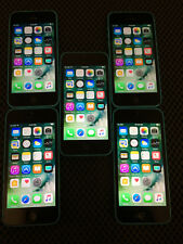 Lot of 5 Apple iPhone 5c 8GB White AT&T Smartphones MGF02LL/A A1532