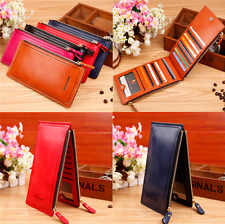 Fashion Women Lady Slim Leather Bow Long Wallet Card Coin Purse Handbag Bag
