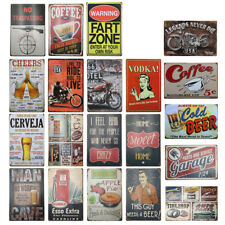 20x30cm Metal Tin Sign Vintage Poster Plaque Wall Home Decorative Beer Plate