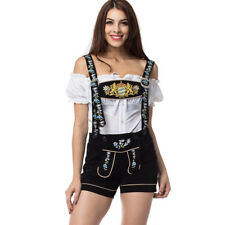 Bavarian Girl Costume Sexy Cosplay Oktoberfest Party Beer Maid Shorts Outfits