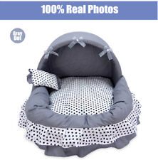 Dog Cat Bed House Pet Nest For Summer Cat Bed House With Small Pillow