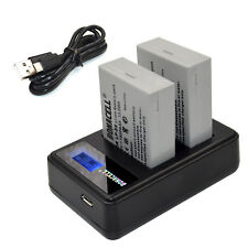 LP-E8 Battery Pack + Charger for Canon EOS 550D 600D Rebel T2i T3i T4i Kiss X5