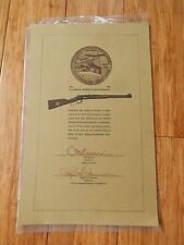 Vintage 1968 Illinois Sesquicentennial WINCHESTER Commemorative Rifle Pamphlet