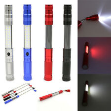 Flexible Flashlight Telescopic 27+3LED Magnetic Pick Up Tool Light Working Torch
