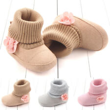 Soft Shoes Booties Toddler Kid Snow Boots 0-12M Boy Girl Infant Baby