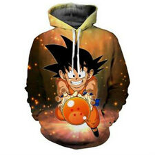 Women Men 3D Dragon Ball Z Goku Kid Print Sweatshirt Pullover Hoodie Sportswear